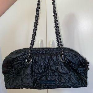 Authentic BCBG Black Purse with chains